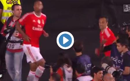 """Luisão e Jonas dançam ao som de """"Bailando"""""""