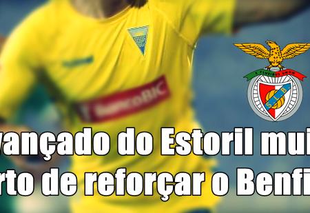 Avançado do Estoril muito perto de reforçar o Benfica!