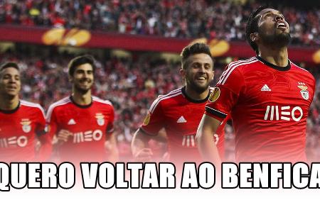 Ex-Jogador do Benfica quer regressar!
