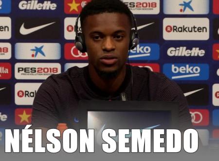 A mensagem de Nélson Semedo para o Benfica!